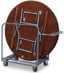 Large Round Table Cart thumb