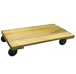 Solid Wooden Platform Dolly