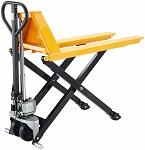 Manual Scissor Lift Pallet Jack 2200lbs Capacity thumb