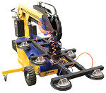 Electric-Powered Mobile Vacuum Lifter with Rough Terrain Wheels thumb