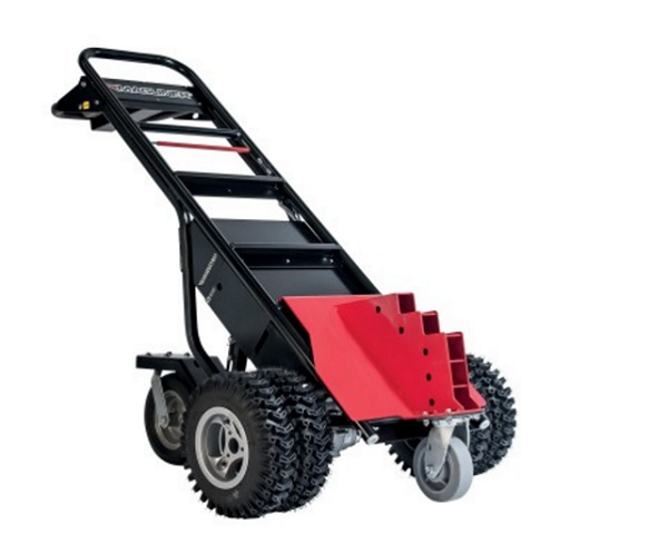 Motorized Hand Truck Tugger-Trailer Hitch with Dual Tires  thumb