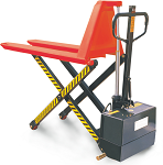 NOBLELIFT Semi-Electric Scissor Lift Pallet Jack thumb