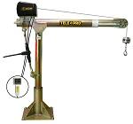 OZ 1200 LBS. Capacity Telescoping Pro Electric Davit Crane thumb