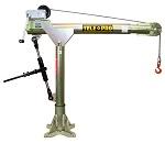OZ 2500 LBS. Capacity Telescoping Pro Davit Crane thumb