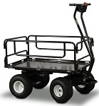 Outdoor Motorized Cart with Side Rails (Removable)