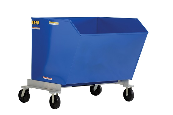 2000 lb Portable Steel Dump Hoppers  thumb