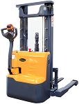 """Power Drive and Lift Straddle Stacker with Free Lifting 98"""" Lift 2200lb Capacity thumb"""