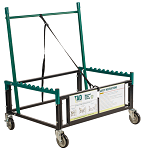 """Rectangular Folding Table Dolly for Tables Up To 96"""" thumb"""