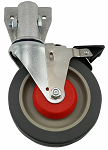 Magliner 4-Wheel Snack Truck Replacement Caster and Socket Assembly thumb