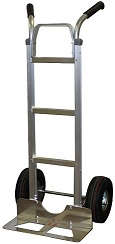 Liberator Aluminum Hand Truck -Double Grip Handle