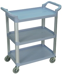 3 Shelf Food Service Cart thumb