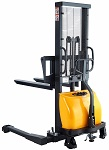 "Semi-Electric Straddle Stacker 118"" Lift 3300lb thumb"