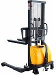 "Semi-Electric Straddle Stacker 118"" Lift 2200lb thumb"