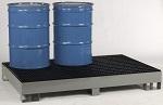 Six Drum Spill Control Forkliftable Platform thumb