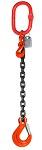 4500 lbs Chain Lifting Sling with Single Slip Hook thumb