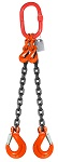 20800 lbs Chain Lifting Sling with Double Slip Hook thumb