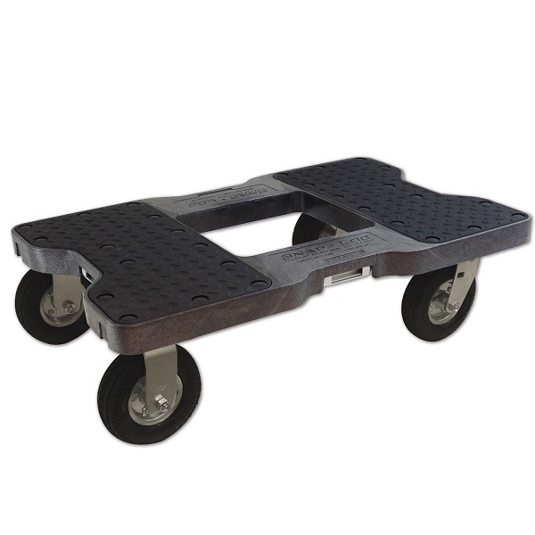 4 Wheel Dolly with Pneumatic Air Tires