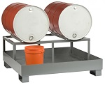 Spill Control Platform with Dual Drum Rack thumb