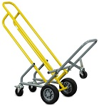 Stackable 5-Wheeler Steel Chair Cart thumb