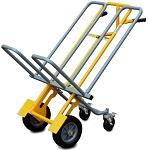 Stackable Dual Chiavari Steel Chair Cart thumb