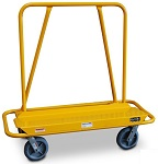 Steel Drywall Mover Panel Cart with Back Handle thumb