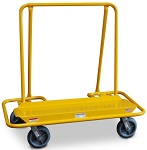 Steel Drywall Mover Panel Cart with Offset Back Handle thumb