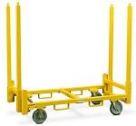 Steel Drywall Mover Stud Cart thumb
