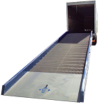 Portable Steel Yard Ramps with Wheels - 16000lb Capacity thumb