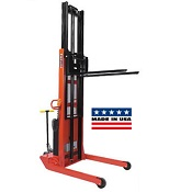 Wesco Powered Telescoping Fork Stacker