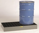 Two Drum Low Profile Spill Control Platform - 33 Gallons thumb