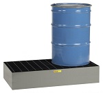 Two Drum Low Profile Spill Control Platform - 66 Gallons thumb