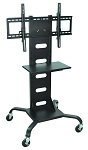 Mobile Flat Panel TV Stand & Mount thumb