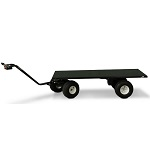 X-Long Electric Powered Flatbed Cart thumb