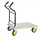 Aluminum Folding Ergo Handle Platform Truck