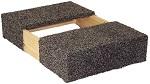 "Carpeted Dolly Riser - 5"""