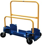 Easy Loading Panel Cart - Roller Entry