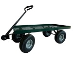 Garden Cart with Pneumatic Tires