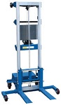 Hand Winch Lift Truck with Counter Balance Design