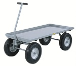 Heavy Duty Wagon Truck with Small Lip Up