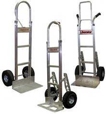 Design Your Own BP Liberator Hand Truck - Straight Back Frame