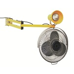 40 Inch Arm Dock Fan and Light