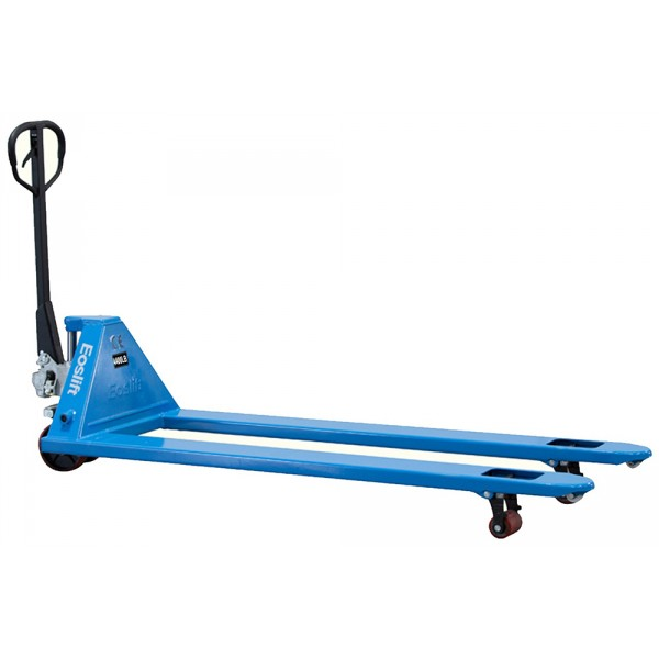 Extra Long Fork Hand Pallet Truck thumb