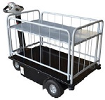 2 Shelf Powered Drive Cart