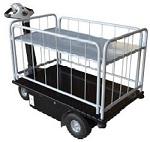 2 Shelf Powered Drive Cart