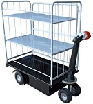 3 Shelf Electric Powered Cart