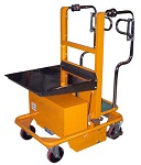 "Electric Order Picker Stock Cart  440 lb 59"" Lift"
