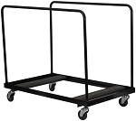 "Round Folding Table Cart for 60"" Table"