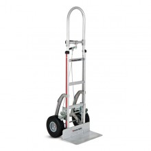 Magliner Brake Hand Truck-Single Pin Handle with Foam Tires thumb