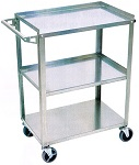Luxor Stainless Steel Utility Cart