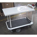 "2 Shelf 40"" x 26"" Motorized Platform Cart"